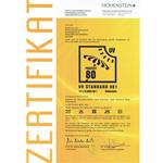 UV80 Zertifikat für strandmuschel com 150x150 Zack Premium erreicht beim Strandmuschel Test den Sonnenschutzfaktor UV80