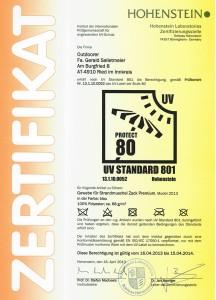strandmuschel test 216x300 Zack Premium erreicht beim Strandmuschel Test den Sonnenschutzfaktor UV80