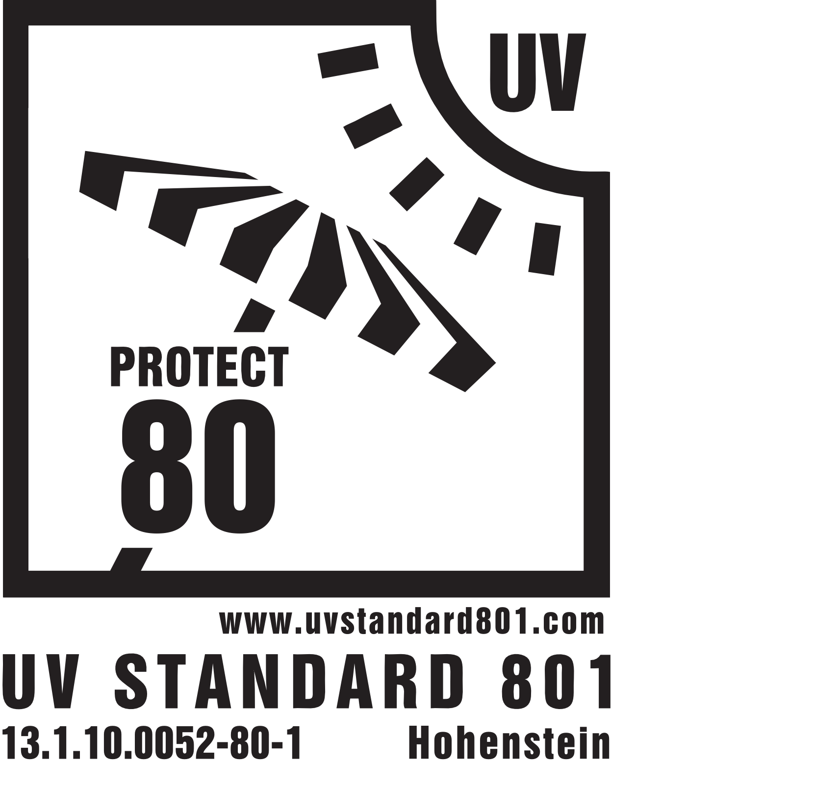 UV Schutz Zertifikat Strandschirm