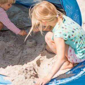 Abnehmbarer Boden - flexible Strandmuschel
