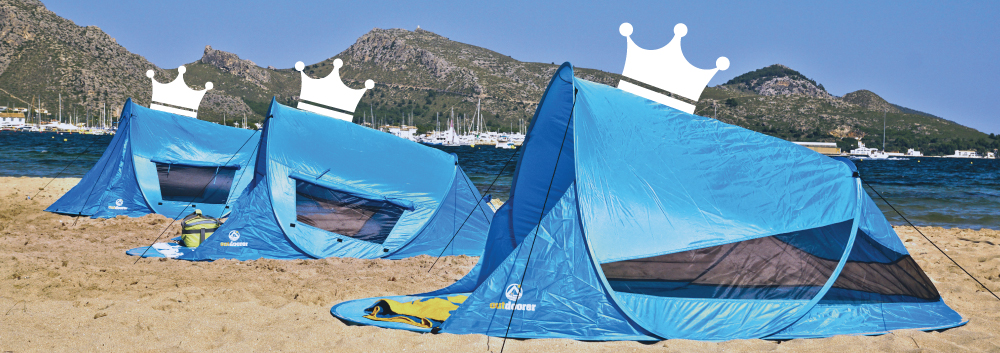 outdoorer Pop up Strandmuscheln - King + Queen
