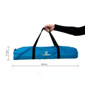 XXL Strandmuschel Santorin Air - Packmaß
