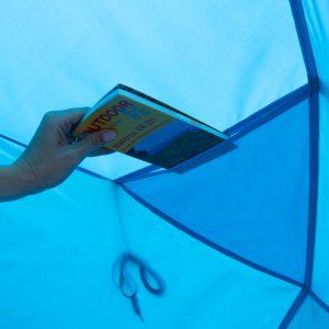 Tasche - leichte Fix up Strandmuschel Santorin Alu Air