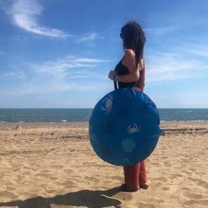 Pop up Strandmuschel zum Verschließen - Zack Premium SeaLife - kleines Packmaß