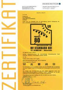 outdoorer Strandmuschel UV 80 Sonnenschutz 2021